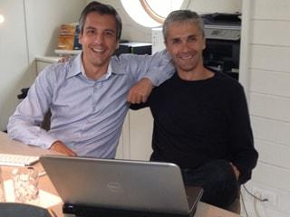 Dries Coucke (left) & Tanguy Peers (right)
