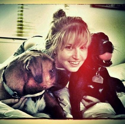 Zoe in Alderley back image