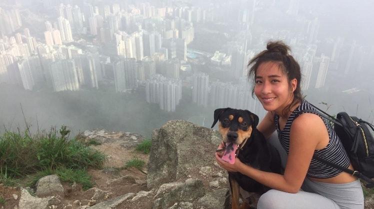 Sarah in Sai ying pun back image