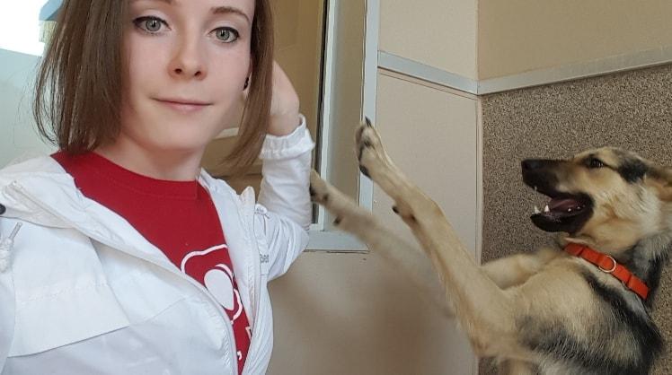Danielle in Cochrane back image