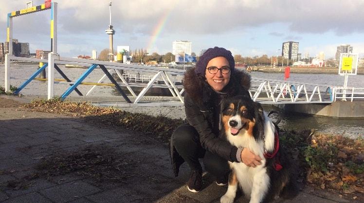 Bárbara in Rotterdam back image