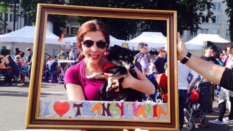 Melinda à Brussels back image