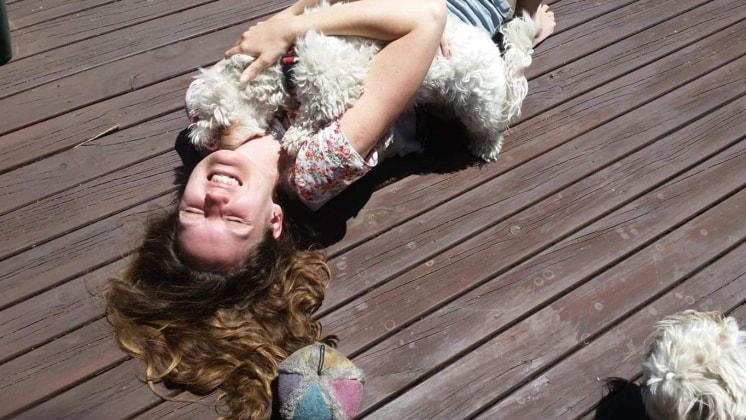 Sarah in Como back image