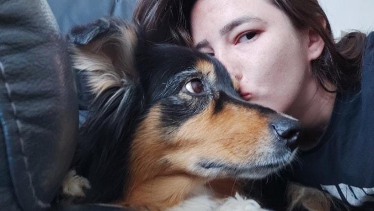 Giulia in Lendelede back image
